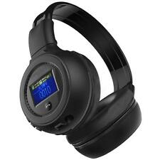 Stereo Bluetooth Wireless Headset FM Radio Function Headphones With Microphone