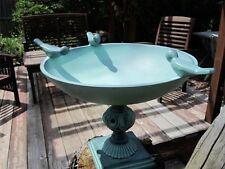Bird Bath -METAL Table Top