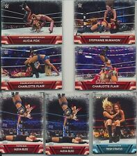 2017 TOPPS WWE WOMENS DIVISION ~ FINISHERS & SIGNATURE MOVES  24 CARD INSERT SET
