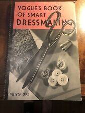 Vogues Book Of Smart Dressmaking Vintage