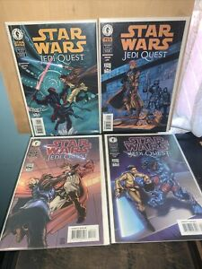 Star Wars Jedi Quest 1-4 Complete Set Dark Horse Comics