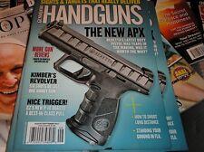 GUNS & AMMO  presents   HANDGUNS  magazine  august/sept. 2017  NEW APX   AA-5