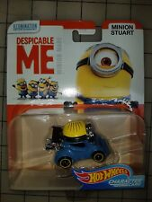 HOT WHEELS CHARACTER CARS DESPICABLE ME 3 MINIONS MINION STUART