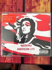 Madonna - American Life Maxi CD Single 3 Tracks Red Missy Elliott