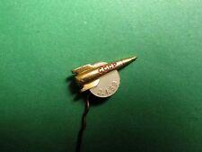 """""""LUNA-1"""" USSR Moon Mission. 2 Jan. 1959. USSR, Russian Pin Bdge. Bronze"""