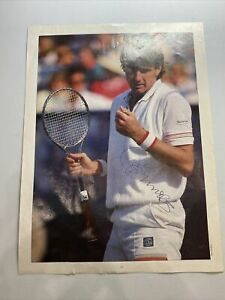 Jimmy Connors Autographed Magazine Page (Not Authenticated)