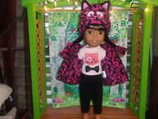 """4 pc. Cat Outfits for the 14.5""""  Doll"""
