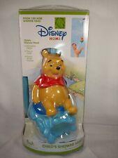 Disney Home Winnie The Pooh Child's Shower Head Nip 100 Acres Nozzle Hose New