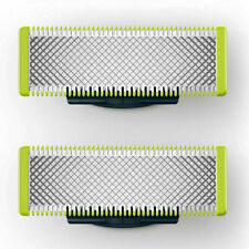 2pc Philips QP220 Replacement Beard Shaving Blades Heads for OneBlade Pro Handle