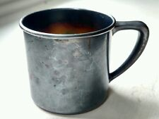 Vintage Baby Cup, Oneida Community Silverplate, Gold Wash Interior, Unengraved