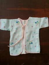 """Vintage 1950/60's Flannel Robe Fits 11"""" Tiny Tears"""