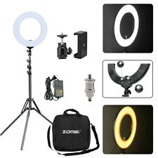 "US 18"" Dimmable LED Ring Light Camera Photo Photography &Tripod Stand Phone Vlog"