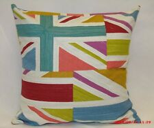 "2 x retro Cushion covers,"" Jacks"", 100% cotton,16""x16"""
