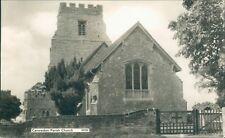 Canewdon parish church; real photo;