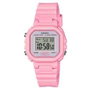Casio LA20WH-4A1,  Women's Digital Pink Resin Watch, Chronograph, Alarm