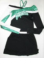 "Cougarette Cheerleader Uniform Outfit Costume 34"" Top Elastic Skirt + Briefs FUN"