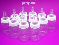 36 Fillable Bottles Baby Shower Favors Party Decorations Girl & Boy Baby shower
