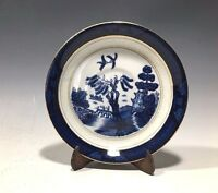 Ironstone Ware Blue Willow Pattern Occupied Japan Saucer