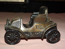 VINTAGE  BANTHRICO COMMUNITY STATE BANK OLD AUTO CAR METAL COIN BANK