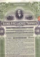 Buenos Ayres Lacroze Tramways 1913  Argentinien