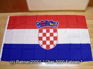 Fahne Flagge Kroatien Neu - 90 x 150 cm
