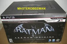 Batman: Arkham Origins Collector's Edition (PlayStation 3, 2013) PS3 New Sealed