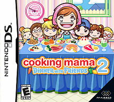 Cooking Mama 2: Dinner With Friends (Nintendo DS) Lite Dsi xl 2ds 3ds xl