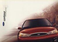1999 Ford Contour Canada Sales Brochure Original