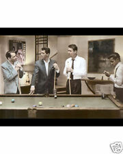 """THE RAT PACK OCEANS 11 1960 8x10"""" HAND COLOR TINTED PHOTO"""
