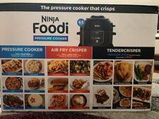 Ninja Op302 Pressure Cooker, Steamer & Air Fryer w/TenderCrisp Lid (9-in-1) New!