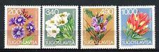 Yugoslavia 1979 SG#1879-82 Alpine Flowers MNH Set #A33112