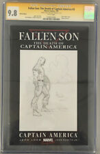 FALLEN SON DEATH OF CAPTAIN AMERICA 3 CGC SS 9.8 SIGNED:SKETCHED BY GARY FRANK