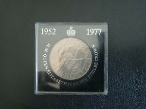 1952 TO 1977 SILVER JUBILEE COIN,NATIONAL WESTMINSTER BANK.MINT CONDITION