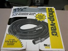 "Shop Vac Cleaner 1 1/2"" X 12' Hose"
