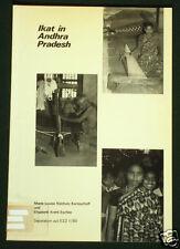 BOOK Ikat in Andhra Pradesh India patola Asian textile weaving art costume silk