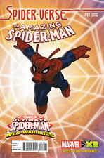 Amazing Spider-Man (2014) #12 Vf/Nm Web-Warriors Variant Cover Marvel Now