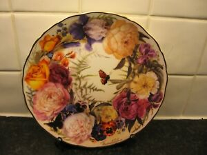 BOUQUET FOR MOTHER FLOWER   PLATE - UNDERSTANDING   - ROYAL ALBERT