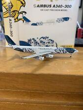 "Gulf Air Airbus 340-300 ""50th Anniversary"" 1:500 Scale Model"