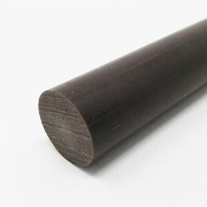 Acetal AF Blend Round Rod, Diameter: 2.500 (2-1/2 inch) x 12 inches long