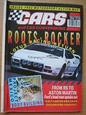 Cars & Car Conversions CCC December 1990 Westfield Colt Lancer Lotus Esprit