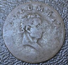 1820-30 GREAT BRITIAN FARTHING - Columbia (King George & Britannia) TOKEN