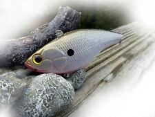 CUSTOM PAINTED SPRO LIPLESS CRANKBAIT SWIMBAIT FISHING LURE NATURAL SHAD BIGBASS
