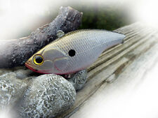 CUSTOM PAINTED SPRO LIPLESS CRANKBAIT  FISHING LURE REAL  NATURAL SHAD BIGBASS