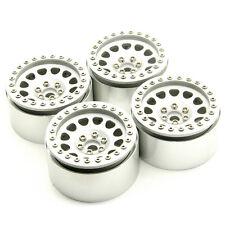 """4PCS 2.2"""" Alloy Beadlock Wheel Rims Set For Axial Wraith 90018 1/10 RC Crawler"""