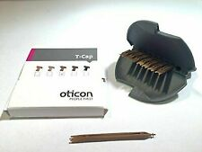 Oticon T-Cap Mic Cover (Pack of 8 Caps) Various Colours