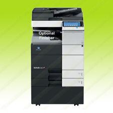 Konica Minolta Bizhub C554 Laser Color Printer Scan Copier Duplex Mfp 55ppm A3