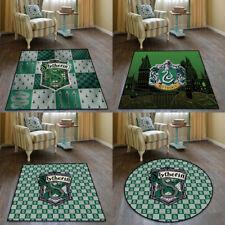 Harry Potter Slytherin Velboa Floor Rug Carpet Bedroom Home Non-slip Chair Mat