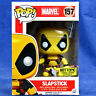 Funko Pop Vinyl Figure Marvel Deadpool #157 Slapstick Hot Topic Exclusive Yellow
