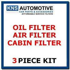 FORD Focus Mk2 1.6 TDCi Diesel 05-07 olio, aria & Cabin Filter Service Kit F34a