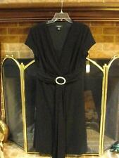 "R & M Richards black cocktail/""after 5"" dress, size 14, NWT"